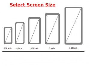 Select Screen Size