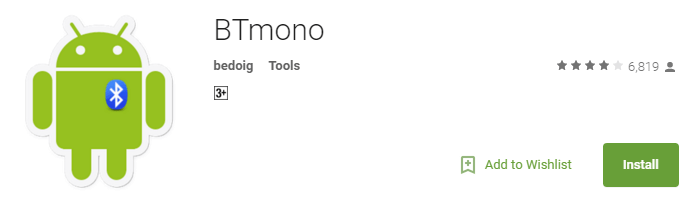 Useful Android Apps - BTmono