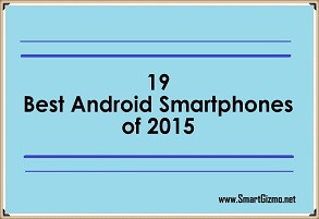 Best Android Smart phones of 2015