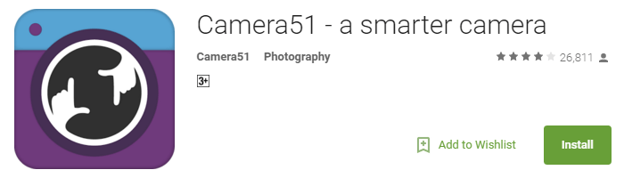 Useful Android Apps - Camera51