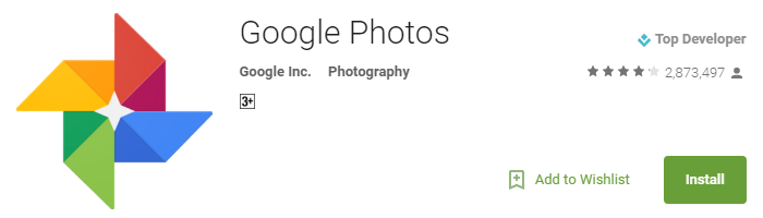Useful Android Apps - Google Photos