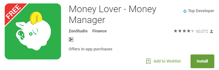 Useful Android Apps - Money manager