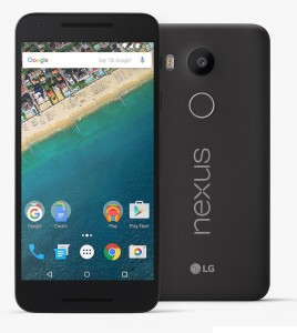 Best Android Smart phones of 2015 - LG Nexus 5X