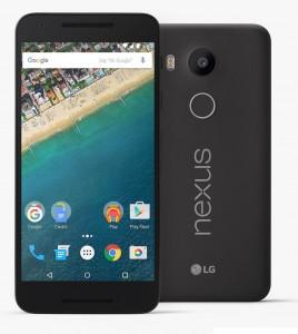 Best Android Smart phones of 2015 - LG Nexus 5X