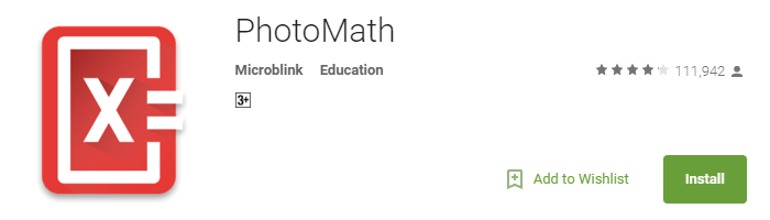 Useful Android Apps - PhotoMath