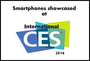 Smartphones at CES2016
