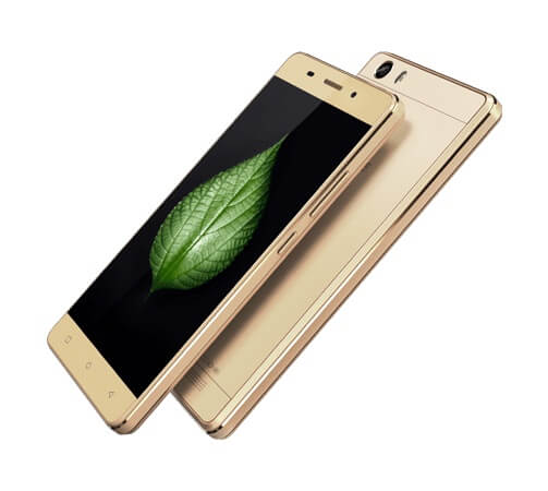 Gionee Marathon M5 Lite front and back