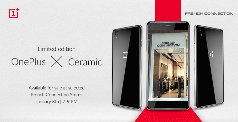 Oneplus X Ceramic announcement