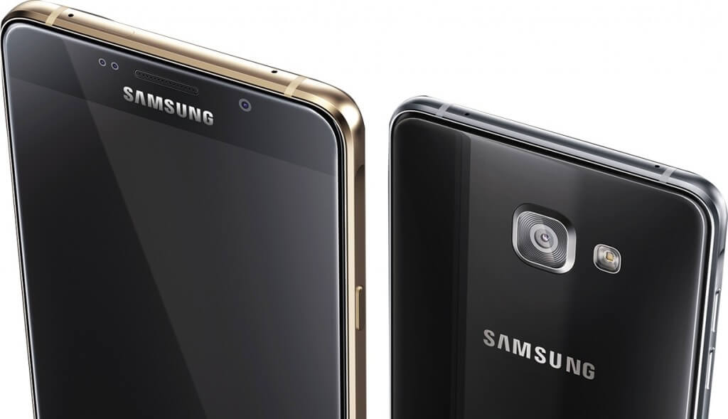 Samsung Galaxy A5 and A7 2016 Black and Gold color