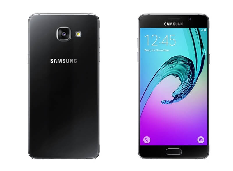 Samsung Galaxy A5 2016 Black colour front and back