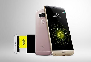LG G5 frint and back