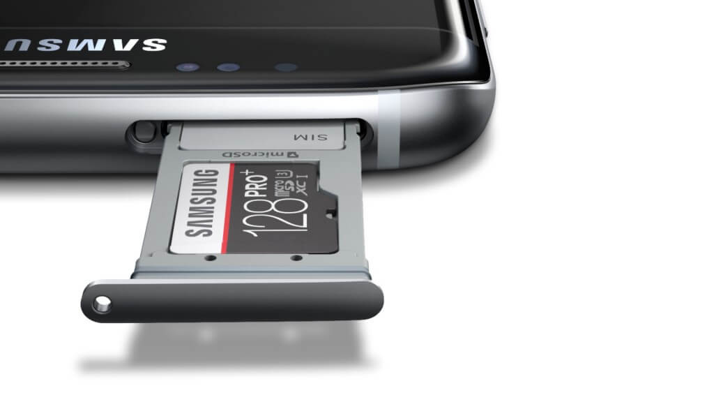Samsung Galaxy S7 and Galaxy S7 Edge memory card slot
