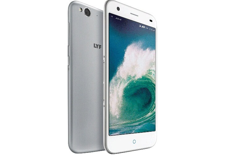 LYF Water 2 White Front and back