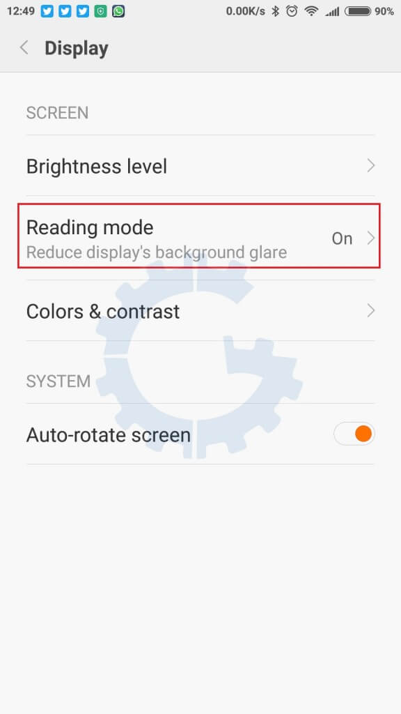 Redmi Note 3 - MIUI 7 Tips & Tricks - Reading Mode