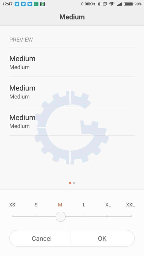 Redmi Note 3 - MIUI 7 Tips & Tricks - Text Size