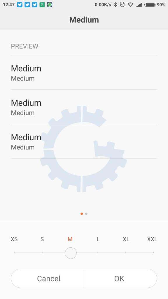 Redmi Note 3 - MIUI 7 Tips & Tricks - Text Size