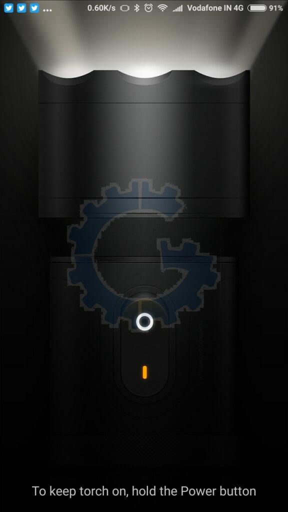 Redmi Note 3 - MIUI 7 Tips & Tricks - Torch