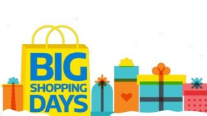 Flipkart Big Shopping Days Deals