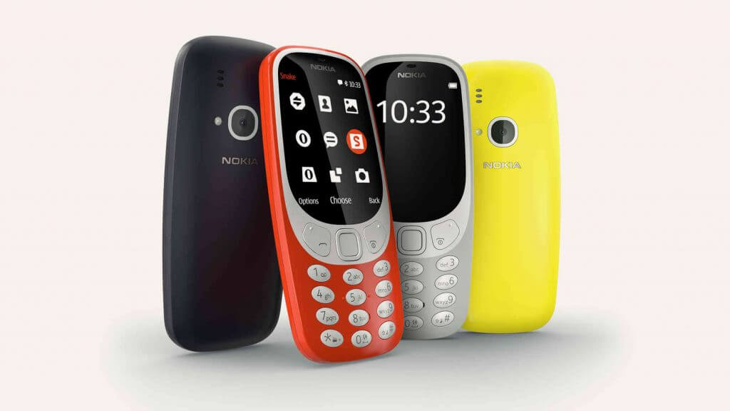 Nokia 3310 all colours