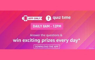 Amazon Daily Quiz Answers | SmartGizmo